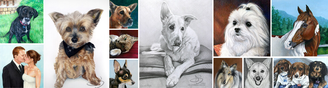 Order Realistic Pet Portraits from photos